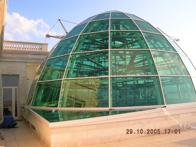 Glazed Dome